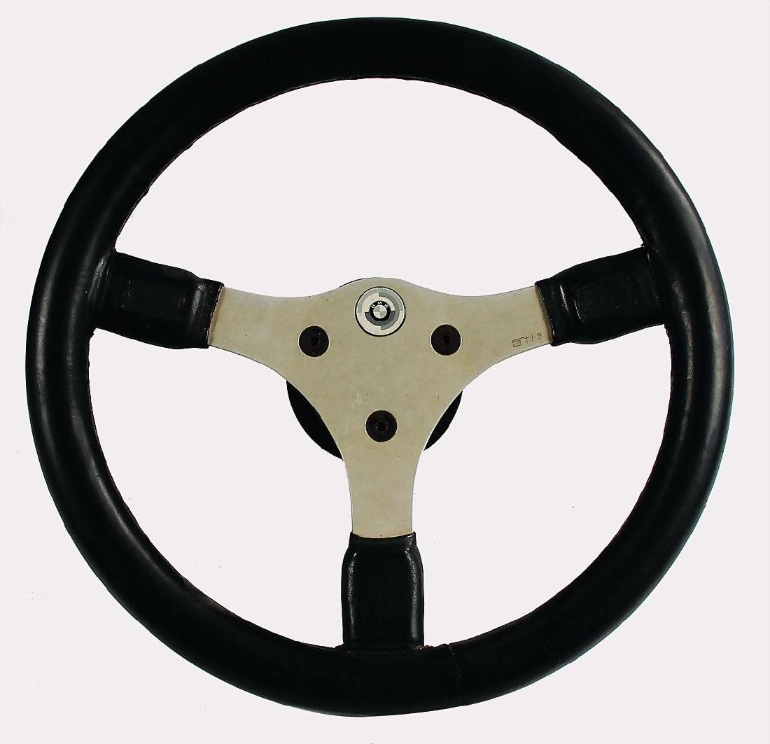 BMW motor sport steering wheel by the manufacturer