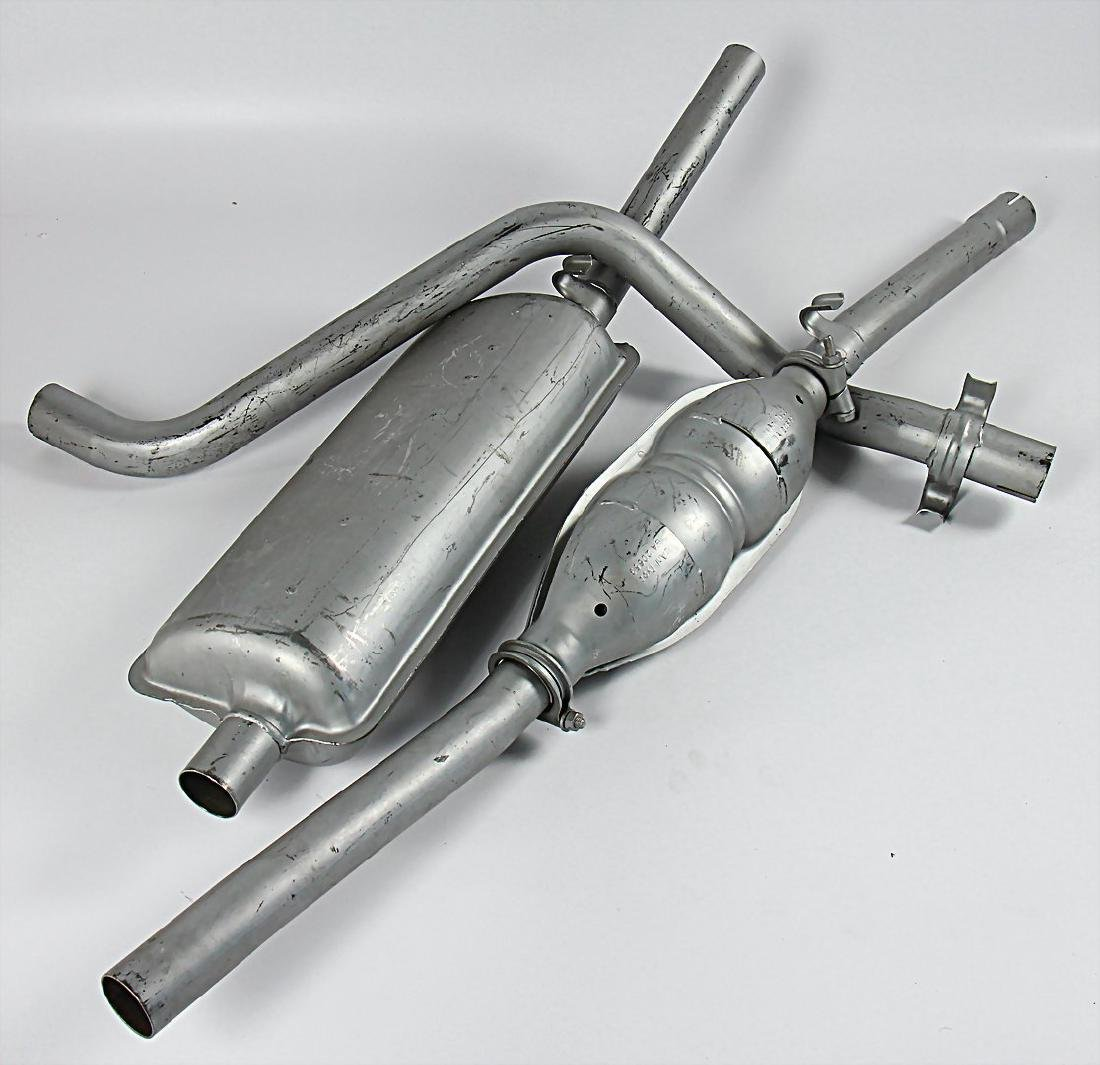 VW/THIELMANN stainless steel exhaust for VW golf GTI,