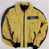 PORSCHEMARTINI imitation leather jacket then team