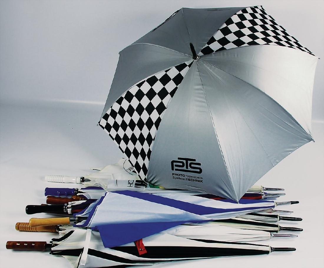 mixed lot of umbrellas, 10 pieces, manufacturers: