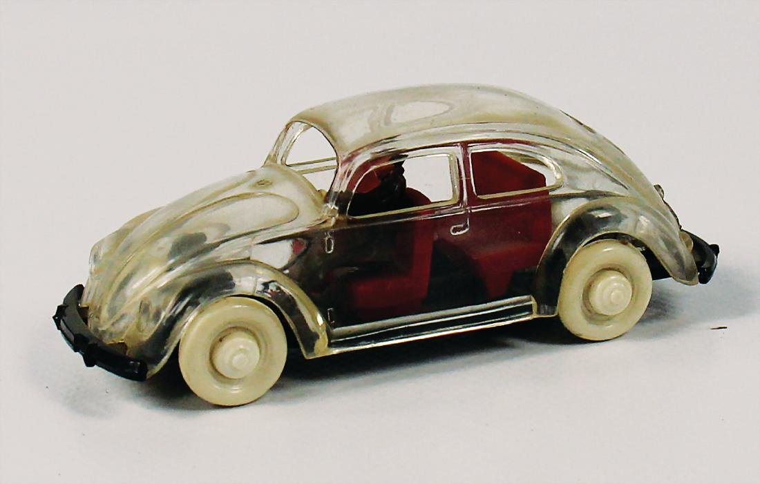 WIKING/VOLKSWAGEN transparent VW-model with driver
