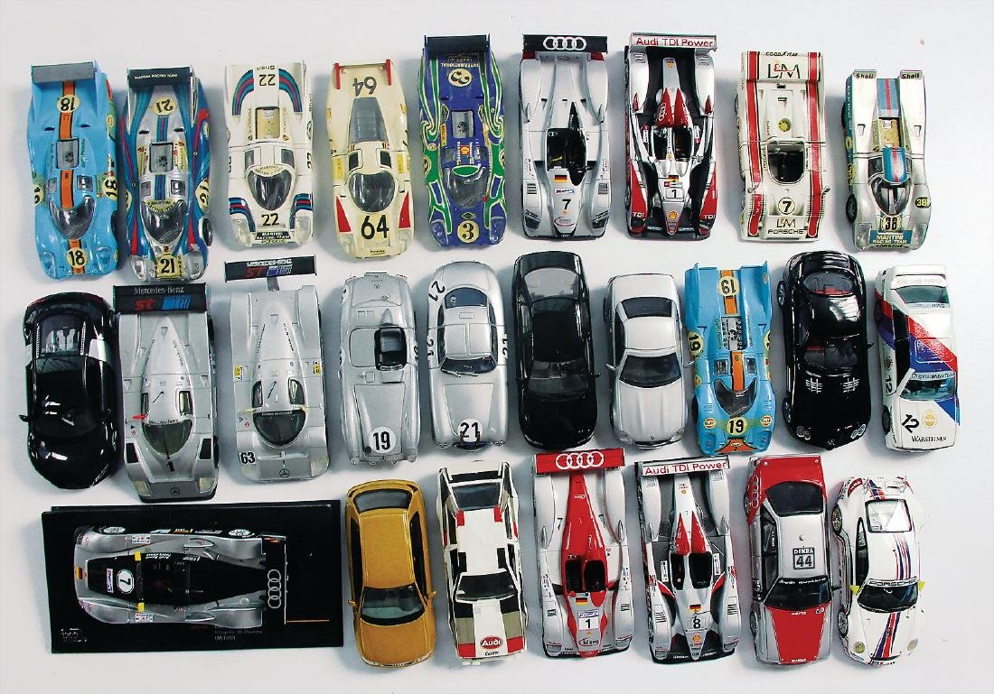 mixed lot, 50 model cars with a scale of 1:43, - 2