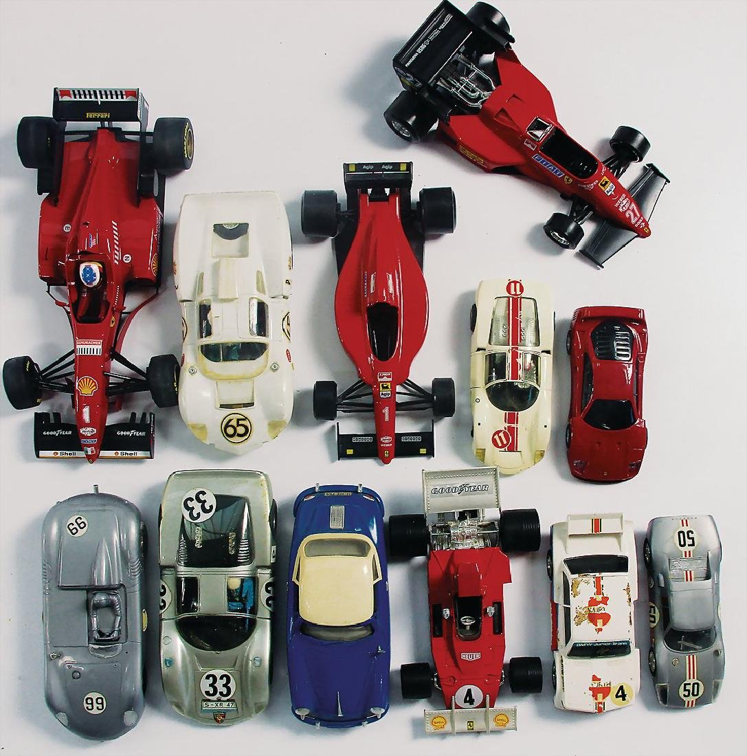 mixed lot, 50 model cars with a scale of 1:43, - 3