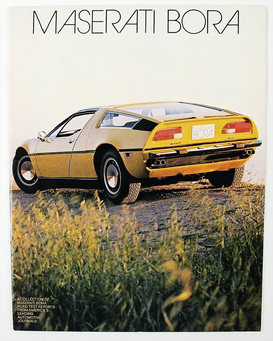 MASERATI sales catalog Maserati Bora, 20 pages, English