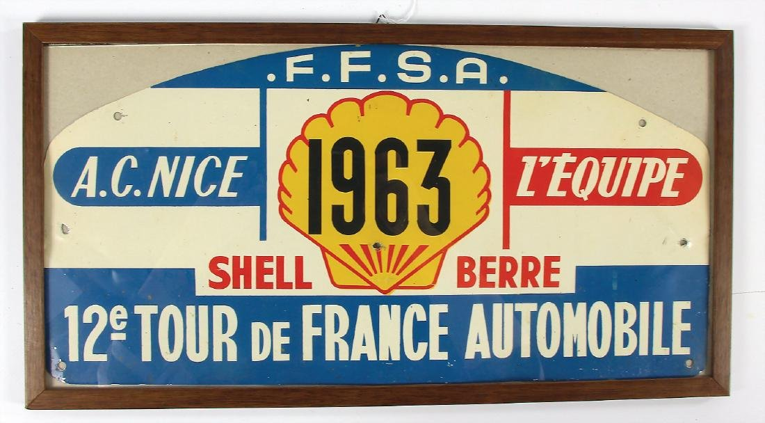 Ferrari / Jean Behra / Jean Guichet original start