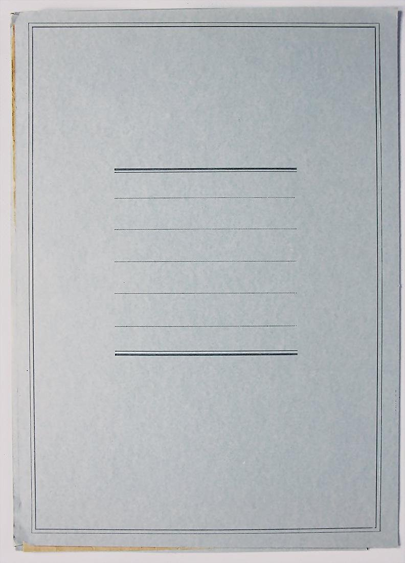 VI. MILLE MIGLIA 1932, four pages long list of - 2