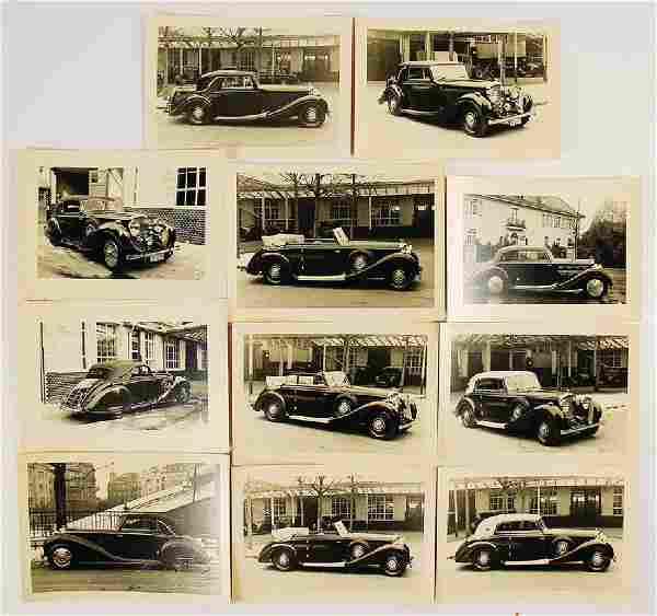 ERDMANN & ROSSI / BENTLEY mixed lot of 11 original