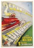 2nd GRAN PREMIO AUTODROMO MONZA small poster (notice)
