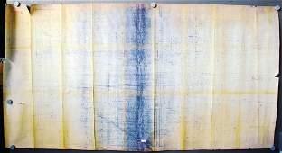 FERRARI April 30th 1963, original factory blueprint