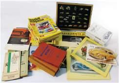 big mixed lot sales brochures atlases books etc