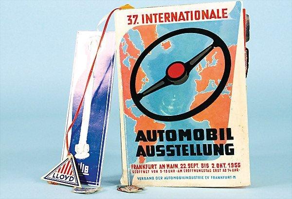 1: 37th International Motor Show, catalog : Frankfurt o