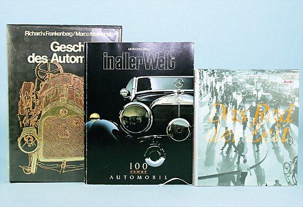 "4: mixed lot of 3 books, No. 1 book "" Geschichte des Au"