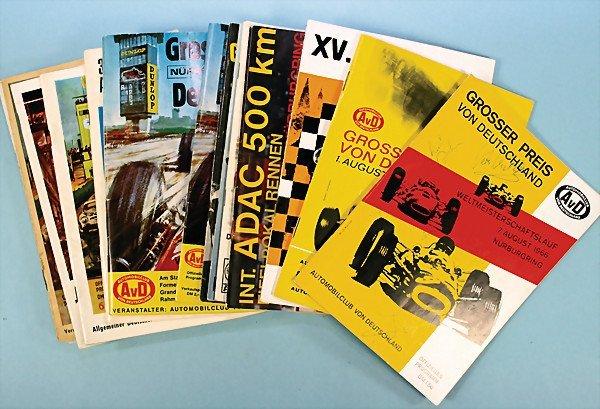 16: mixed lot of programmes, 20-parts, among them ADAC