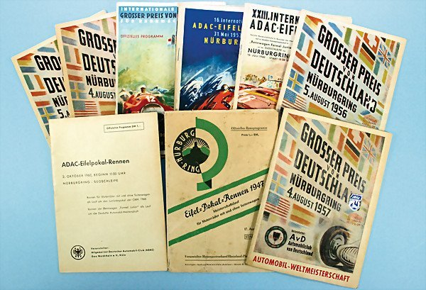 19: mixed lot of 9 programmes, everything from the 40's