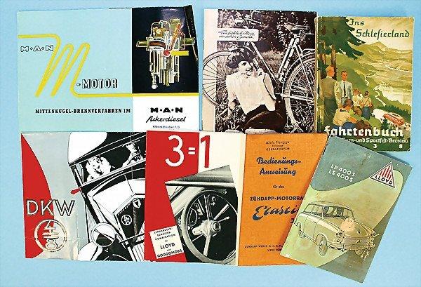 23: mixed lot of 7-parts, high-quality, No. 1 manufactu
