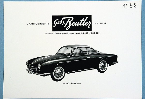 983: flyer, 1958, Karosserie Gebrüder Beutler, conditio