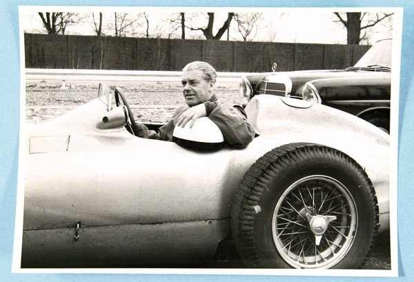 1508: MERCEDES BENZ/RUDOLF UHLENHAUT, in W 196, beautif