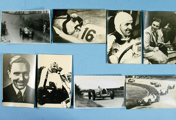 1524: HERMANN LANG, 8 photo postcards, partially with l