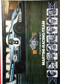 2019: PORSCHE/MARTINI RACING, racing poster, Martini-Ra