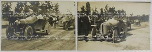 BENZ  CIE Prinz Heinrich Fahrt 1910 two original