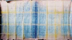 FERRARI April 22nd 1964, original factory blueprint