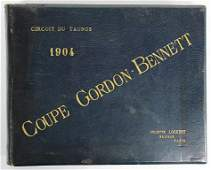 Coupe Gordon Bennett 1904 Circuit du Taunus leather