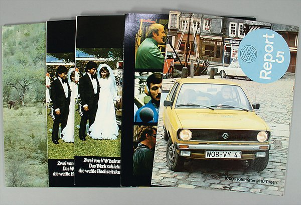 10008: VW, report, No. 1 VW in South Africa, 1975; No.