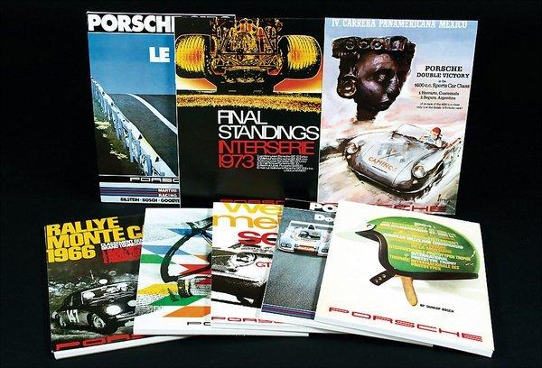 10012: PORSCHE, Germany, c. 1979/80, 13 memo pads in DI