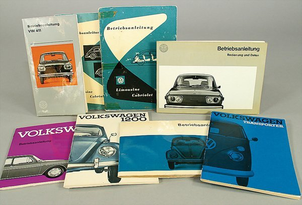 10018: VW, mixed lot of 8 pieces, No. 1 Germany March 1
