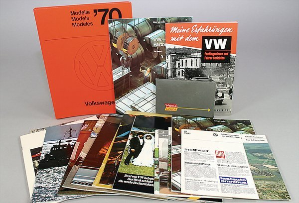 10019: VW, mixed lot of 21 pieces, No. 1 Germany 1958,