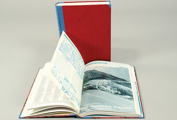 10020: PORSCHE, Panorama, bound year 1966, and bound ye