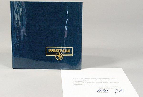 10021: WESTFALIA, Germany 1975, commemorative volume on