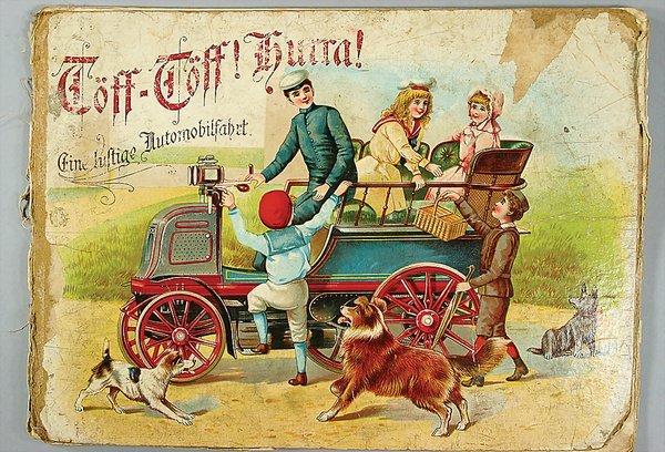 "10022: book: ""Töff-Töff! Hurra! ""Eine lustige Automobil"