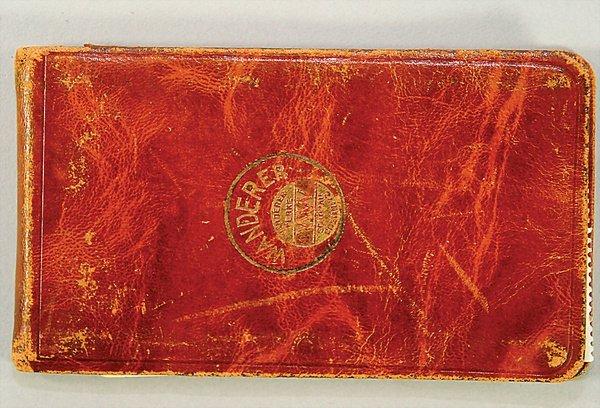 1403: WANDERER WERKE SCHÖNAU, Germany 1925, small  pock