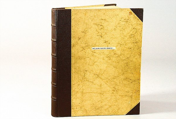 1404: photo album of a rally driver, beginning 1959, Mr