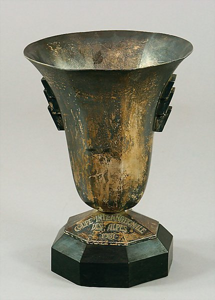 1408: COUPE INTERNATIONALE DES ALPES 1931, silver-cup,