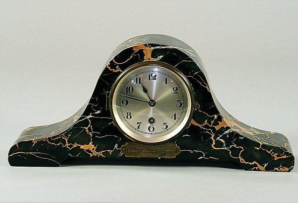 1410: ADAC EILENRIEDERRENNEN 1932, clock for fireplace,
