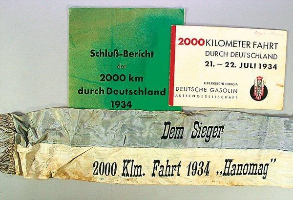 1411: HANOMAG/2000 Kilometer Fahrt durch Deutschland 21