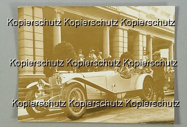 1512: MERCEDES-BENZ, original b/w photo, from the late