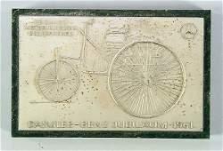 2296 MERCEDESBENZ badge 75 Jahre Motorisierung des