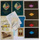STUDEBAKER 1927-1929, mixed lot with 17 pieces, sales