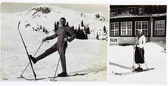 PRIVATE ARCHIVE RUDOLF CARACCIOLA 1933, 2 B/W photos,