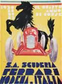 SCUDERIA FERRARI 1933 yearbook Il. Quarto anno di