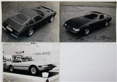 FERRARI PININFARINA mixed lot of 3 company photos