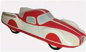 FIAT ceramic model Fiat Turbina 1954 prototype, lenght: