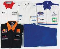 mixed lot with 5 pieces among it Porsche Footwork