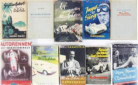 mixed lot of books with 10 pieces among it Kampf um