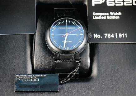 PORSCHE men's wristwatch Porsche Design chronograph