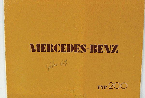 1400:  Description English:   MERCEDES BENZ, Mercedes B