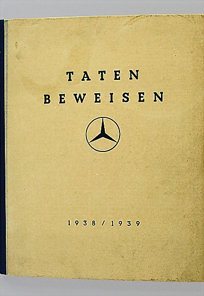 "1409:  Description English:   MERCEDES BENZ, Germany, """